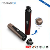 Titan-1 elegantes secan a fisgón electrónico Dogg del cigarrillo de la calefacción de cerámica del vaporizador 1300mAh de la hierba