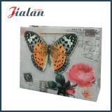 3Dきらめきの蝶ナイロンロープは紫外線印刷された紙袋をカスタマイズする