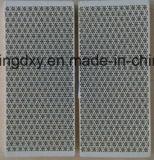 Chauffage gaz Honeycomb Plaques en céramique carrée infrarouge pour le brûleur