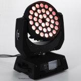 DJ 36*15W RGBWA UV6 in 1 LED-Summen-Wäsche-beweglichem Kopf