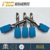 Fxc estria única de alta precisão de carboneto de sólido a extremidade da ferramenta de corte de acrílico Mill
