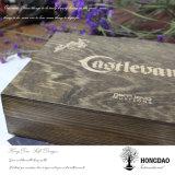 Горячий Hongdao продажи пользовательское поле деревянной обуви с выдвижной ящик для продажи _E