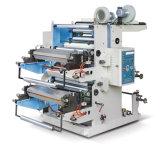 Doppia stampatrice di Flexography di colore