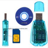 De Lezer van de Kaart USB SIM/Schrijver/Exemplaar/Cloner/ReserveGSM van de Lezer van de Kaart van de Uitrusting SIM CDMA Cellphone SMS ReserveJ1to
