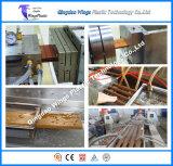 Cadena de producción automática de alta velocidad del perfil de WPC, haciendo la máquina para el suelo/el Decking/la paleta