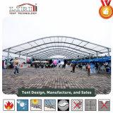 Arcum Zelt mit Glaswänden ganz herum in Nigeria