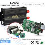 Perseguidor del GPS G/M para el vehículo Tk 103 del coche con el monitor del combustible y el CRNA de la puerta sobre alarmas de la velocidad