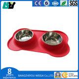 Pet Cat / собака чаша из нержавеющей стали чаша Пэт чаши бассейна экологически безвредные предотвращения столкновения не токсичных