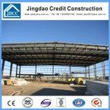 Vertente curvada industrial da construção de aço do telhado do painel de sanduíche