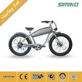 Bicicletta elettrica della gomma da 26 pollici della bici della neve dell'incrociatore elettrico grasso della spiaggia