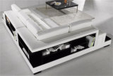 Il nuovo sofà del cuoio del salone di disegno della mobilia domestica ha impostato (HC2028)