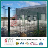 Qym電流を通された鋼鉄粉の上塗を施してある溶接網の塀