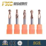 4 флейта HRC55 фрезерования ножи с шаровым носовой частью