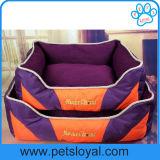 Vierecks-Kissen-waschbares Haustier-Hundebett mit entfernbarem Kissen