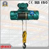 Grue électrique 1t, 2t, 3t de câble métallique de dispositif de sûreté durable d'opération,