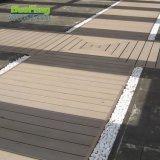 Decking en bois du plastique WPC d'anti longue vie imperméable à l'eau UV imperméable à l'eau