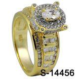 De fabriek Aangepaste Ring van de Juwelen van de Manier Echte Zilveren
