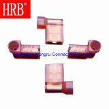 Latón hembra indicador de nylon Terminal aislado con 3,05 mm Diámetro
