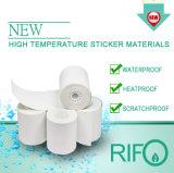 Etiqueta de alta temperatura de material para a impressão de fitas de transferência térmica