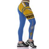 Высокая поясная 3D-печати спортивная одежда для занятий йогой Leggings брюки 3040