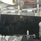 Kingkonree 2cm e 3cm Caesarstone Laje de quartzo preto do Espelho