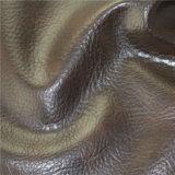 Cuir de PVC poli par meubles imperméables à l'eau Abrasion-Résistants élevés pour le sofa utilisé