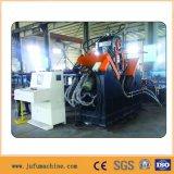 Máquina de proceso de acero de perforación del ángulo de la marca del CNC que pela