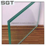 PVB를 가진 6.38mm Low Iron Laminated Safety Glass