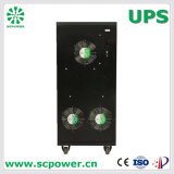UPS do External da bateria da fase 30kVA monofásica para a indústria com Ce