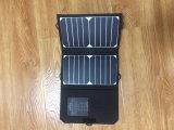 이동 전화를 위한 유연한 USB 태양 충전기를 접히는 7W