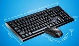 Insieme standard poco costoso della tastiera e del mouse del calcolatore collegato USB del gioco