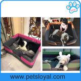 Mémoire imperméable forme 600D PET produit chien lit d'alimentation