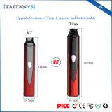 Titan-1 astuti asciugano la sigaretta elettronica del riscaldamento di ceramica del vaporizzatore 1300mAh dell'erba con Vaporizaer