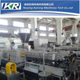Nanjing Co-Rotating PVC Cling Film Extruder Pelletizing Machine Plastic Granulator
