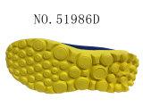 Numéro 51986 glissade supérieure de maille des chaussures du gosse sur des chaussures de sport