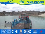 船のガーベージのボートを集めている水生Weedの収穫機の屑のハンターか海生まれる残骸
