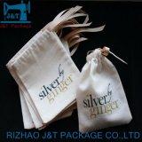 Оптовая торговля 100% хлопок экологически безопасные Custom Muslin дешевые кулиской сумки