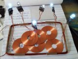 Drahtlose aufladenlösung für elektrische Kerze