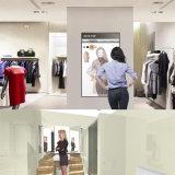 Écran sensível LCD de 42 polegadas que anuncia o indicador mágico do espelho com Photobooth