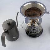 600ml de Ketel van de Koffie van het roestvrij staal met Dekking