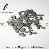 Ck에 의하여 소결되는 알파철 자석 F4*2*2mm