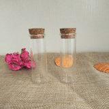 Longa Reta vazia que desejem garrafas de vidro transparente de garrafas para tubos de ensaio