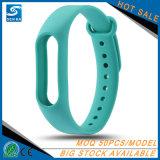 Gummisilikonwristband-Uhrenarmband für Xiaomi MI Band 2