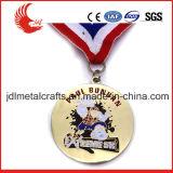 Vernice blu di alta qualità con le medaglie giranti di scintillio
