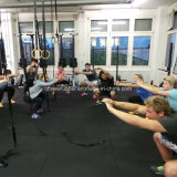 Установите противоскользящие спортзал Crossfit фитнес-резины EPDM рулон пол коврик