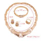 L'insieme africano dei monili di doratura elettrolitica dell'oro della Doubai di modo, oro della Doubai ha placcato l'insieme dei monili