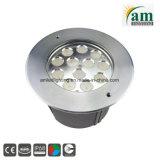 セリウム公認LEDのプール水中ライト