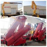 10 Tonnen-Knöchel-Hochkonjunktur-LKW eingehangener Kran