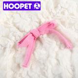 Robe de chemisette et veste de vêtements pour animaux blanc et rose