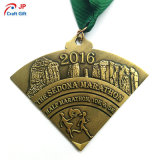 Customized Square Zinc Alloy Metal Medal